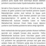 Cizreye 2 gün önce binlrce polis sevkedildi. Polisler seçime kadar ilçede kalacak. Bu akşam sokağa çıkma yasağı var. http://t.co/cLWO5SA9oL