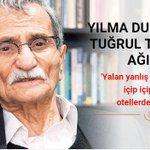 """Yılmaz Duraktan Tuğrul Türkeşe ağır cevap http://t.co/leDgVeUZ9g http://t.co/eH24sTqIKo"""""""
