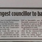 Some excellent @edinburghpaper coverage on my selection as @EdinburghTories Holyrood candidate for #Edinburgh Eastern http://t.co/hJshsi1Who