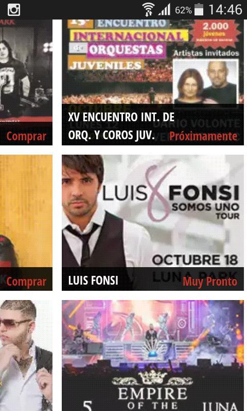 Muy pronto salen las entradas para @LuisFonsi en el @stadiumlunapark  el 18 de octubre! x sistema @ticketportalar http://t.co/8XhMp38CSg