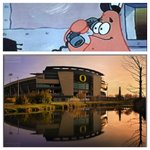 """Is this the Krusty Krab?"" No this is Autzen. http://t.co/xviHCF22uT"