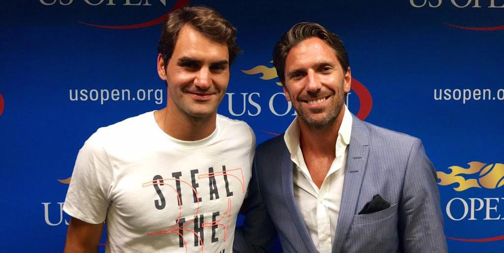 Roger Federer And Henrik Lundqvist Are The Best Buds Of Tennis