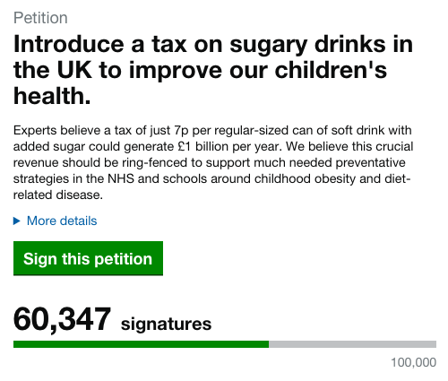 Change is needed. The government need to start listening. Show support. Sign up http://t.co/6xjbaJFj15 #SugarRush http://t.co/hJMaurZ59w