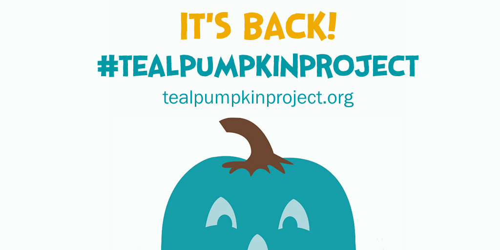 Help create a safer, happier Halloween for all at http://t.co/XtKHbCwDtJ! Let's do this! #tealpumpkinproject http://t.co/0wZ853borX