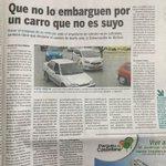 2-noticias de hoy en el BolivarGanador: todos a ponerse al día en impuesto a vehículos.Mandato legal. http://t.co/BtmqPMuTM2