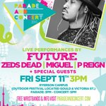 MIGUEL & P REIGN ARE ALSO COMING TO PARADE & CONCERT W/ FUTURE & ZEDS DEAD! TELL YOUR FRIENDS! #RoadToRyerson (icymi) http://t.co/m1GRsWkgjZ