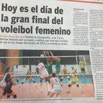 5-noticias de hoy en el BolivarGanador: selección femenina de voleibol enfrenta hoy en final al valle. http://t.co/0is454798F