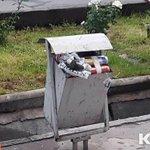 Возле здания Детского мира в Бишкеке в мусорном баке обнаружено взрывное устройство http://t.co/3NNaeWkB2g http://t.co/TNDUxhwAfi