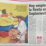 3-noticias de hoy en el BolivarGanador:comienza fiesta en Soplaviento con apoyo de ICULTUR.homenaje a Catalino parra. http://t.co/U1mdU9tL6g
