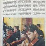 4-noticias de hoy en el BolivarGanador: 6:00pm Sonarte  en el Lacides Segovia. http://t.co/F476khV6gT