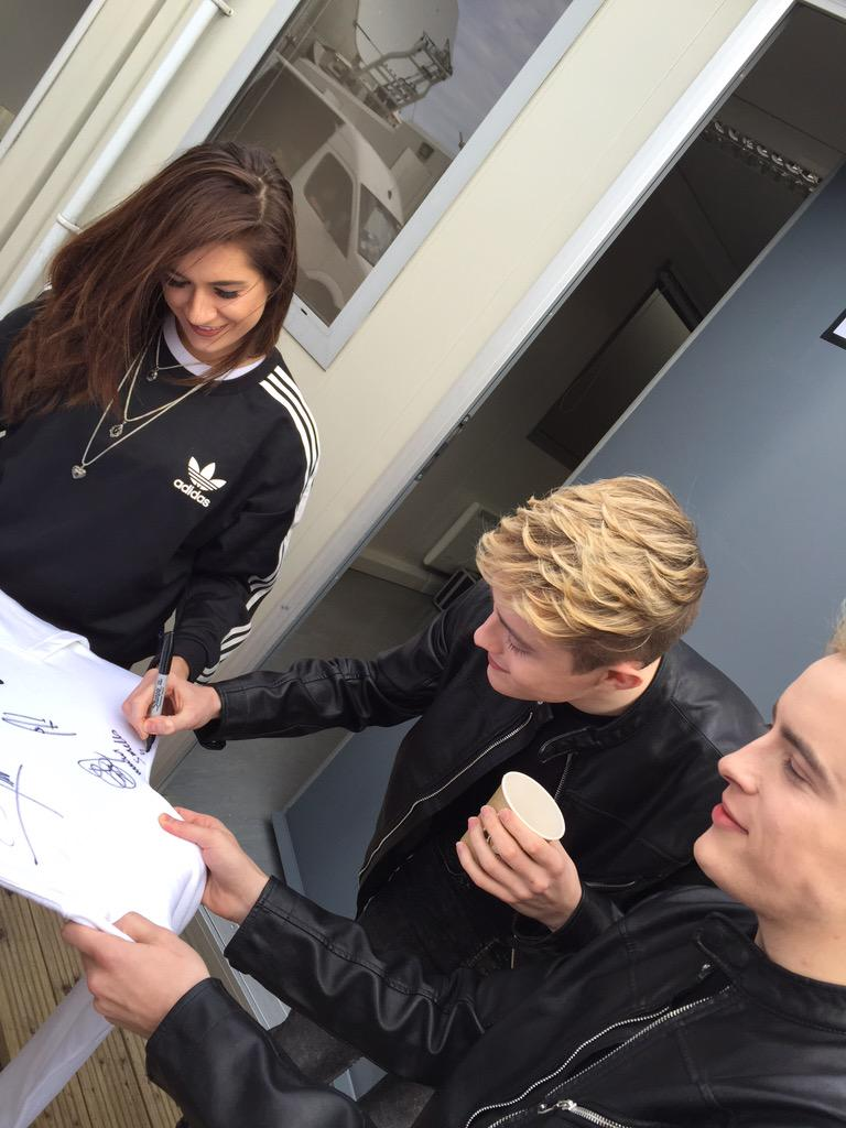 @planetjedward & @OTYOfficial have arrived #switchon15 http://t.co/1Fdo5VafeH