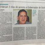 6-noticias de hoy en BolivarGanador:por no contestar un derecho de petición sindicato pide arresto del Gobernador. http://t.co/kqNZGh5D0c