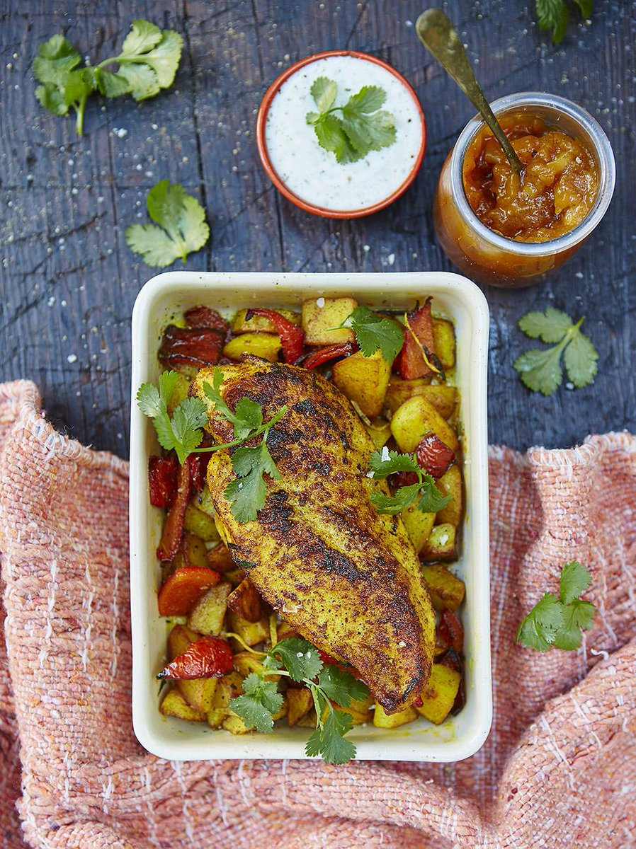 #Recipeoftheday a delicious roast chicken breast with lemony Bombay potatoes http://t.co/6Qknx2hNFH http://t.co/tPVbtxmSkc