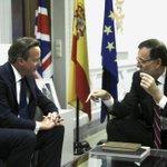 Cameron, en La Moncloa: «Si una parte de un Estado de la UE se separa, queda fuera de la UE» http://t.co/8w5bn3wUP9 http://t.co/3Z5JnQEXf8