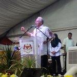 """""""Suara rakyat didengari bkn melalui demostrasi jlnan, tetapi melalui saluran yg sah, iaitu pilihanraya"""" - @NajibRazak http://t.co/yUiiAAGiyi"""