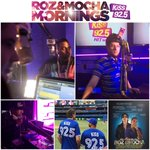 This week the #RozAndMocha Show celebrated 6 years on @kiss925 ???? Thank You #Toronto for the love & support ????☀️☕️???????????????? http://t.co/P4cdGH2bl0
