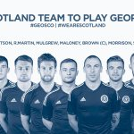 #GEOSCO | Here is the Scotland team to face @GeorgianFF in Tbilisi this evening. #WeAreScotland http://t.co/JOI1NwNQYZ