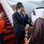 #EnVideo | Así fue la llegada del presidente @NicolasMaduro a Qatar https://t.co/v0aoDXeipQ http://t.co/7tY7vbGRrZ
