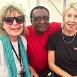 (Not so) old media stalwarts! With @JeanNamibian and Oswald Shivute at #TheNamibian@30 staff event. http://t.co/WoMEBKe3oB