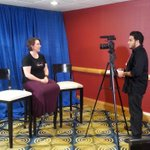 First literary interview of the morning with @milkysa! #DragonCon2015 @toadgeek http://t.co/cv8D1NYuiI