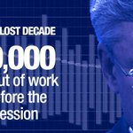 Economic growth is down. The unemployment rate is up. Clearly, Stephen Harper's plan isn't working. #Ready4Change http://t.co/Wn07qf7yTi