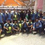 Skuad futsal Malaysia bakal berlepas ke Oita, Jepun pada pukul 11.45 malam ini untuk siri perlawanan persahabatan. http://t.co/hbmfPsy1m2