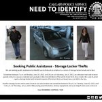 Seeking Assistance - #yyc Storage Locker Thefts http://t.co/ClQNqzXx14 #Calgary http://t.co/eyiw4JO8VW