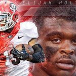 Evander Holyfield son Elijah just committed to Georgia. http://t.co/7vBJ7JTXqj