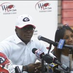 Elijah Holyfield announces hes going to play college football at #UGA @universityofga http://t.co/3qxnl9fAFb