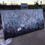 #Painted this in the crisp #September air last nite @FairmontMAC in #yeg #giselledenis http://t.co/QS8Ey9y5dd