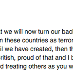 """The chair of UKIP Hertfordshire has resigned saying UKIPs legacy is """"turning our backs on people fleeing terror"""". http://t.co/EShw3P6STW"""