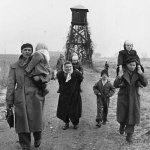Hungary refugees walking to Austria 1956. Syria refugees walking from Hungary to Austria 2015. Via @CasMudde http://t.co/w41V2TmReY
