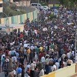 """متظاهرو #الديوانية يغلقون مبنى مجلس المحافظة لحين إجراء إصلاحات """"حقيقة"""" #مظاهرات_العراق #مظاهرات_4_ايلول #بغداد http://t.co/TByUgfGujE"""