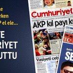 AK Parti Terörle Mücadele Ederken CHP-MHP-HDP El ele Kaos Peşinde #GüvenliğiSağlaAkepe Öylemi http://t.co/sivzrfbchr http://t.co/To4ad8irrt