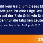 Heiner Geißlers Kommentar beim #drp15 über d. Flüchtlingskrise fand viel Beifall. Reaktionen: https://t.co/HGdUZbk8s4 http://t.co/w3GLwjChM2
