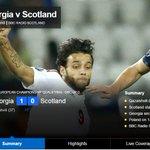 https://t.co/Oejb7gkN68 RT BBCSport: HT Georgia 1-0 Scotland. Kazaishvilis goal gives Georgia the lead at the b… http://t.co/my4Ney1l3A