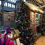 Santa Claus has come to town a little bit early. @LibertyLondons colourful #Xmas Shop is back in action! #london http://t.co/QnDaVQNu8N