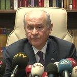 Devlet Bahçeli: Medyaya baskının hesabını sorarız. Bunu İstanbuldan ilan ediyorum... http://t.co/wtP7gTEE7e http://t.co/SSCsJQcPXE