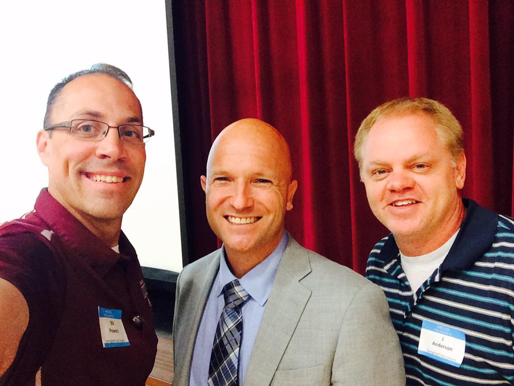 Great to finally meet & learn with @E_Sheninger  Cc: @DrJ_Anderson http://t.co/4kDpcScASP