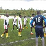 UGANDA had a warm-up session a few hours ago in Moroni. Good luck Cranes against hosts COMOROS tomorrow. #Afcon2017 http://t.co/BvKydN5PWd