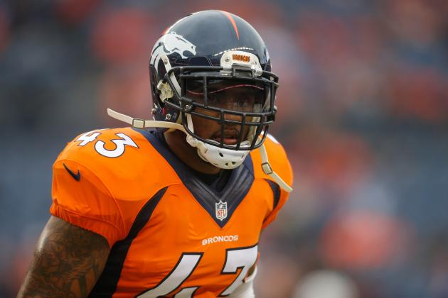 "Broncos' T.J. Ward comments on his 1-game suspension being upheld ""My last name's not Brady"""