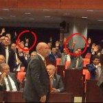 MHP/HDP aynı ŞER ekseninde ellerini kaldırıyor. MHP/HDP/CHP meclisde yine ittifak yaptı. http://t.co/Z8EccWjnoV