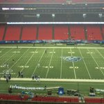 View from the Georgia Dome ahead of Georgia State-Charlotte. @MattOsborne200 and @CarlosFPineda are at the game! http://t.co/HrmO5nvSGC