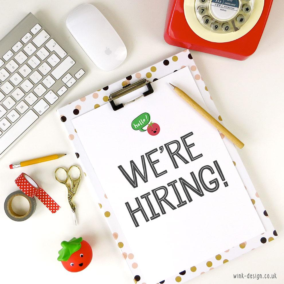 In case you missed it - I'm hiring! Local to the #Portsmouth area? P/T Studio Assistant >>> http://t.co/TRrHD14PB6 http://t.co/a0B9sHS9Os