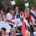 كلنا العراق ❤✌ #MyIraq #Iraq #Baghdad #TahrirSquare #العراق #بغداد #مظاهرات_العراق #مظاهرات_4_ايلول #ساحة_التحرير http://t.co/eKGrOlofGa