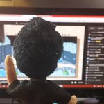 Mark watching Mark. #EGGPLANT http://t.co/WjXkrmdDUR