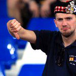 His face says it all... Scotlands Euro 2016 hopes are dealt a huge blow after Georgia loss. http://t.co/rv9hHx4sgC http://t.co/uFnKGzBugO