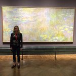 Chasing the wife through the National Gallery. Monet really liked those water lillies. #London http://t.co/ItejbjE7Bk