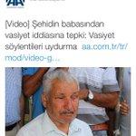 Vasiyet çok ağır gelmiş çok! Erdoğanın danışmanı Ş. Kazancının AAsı da devrede. Silah arkadaşları var okuduk diyor http://t.co/XpKED7mws0
