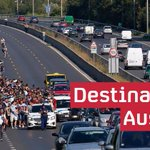 #RefugeeCrisis: Hundreds begin march to Austria - @mattfrei @NanettevdLaan @daibaker http://t.co/ee1OgvxoV1 http://t.co/PFHFenKTgs